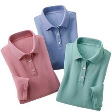 かのこ素材爽やかポロシャツ(色違い3枚組)