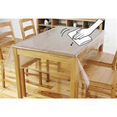 抗ウイルス抗菌透明テーブルカバー