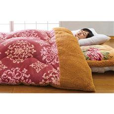 シンサレート入り洗えるもっと暖か毛布仕立て掛布団