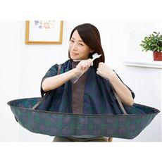 ジャンボ散髪マント/散髪・毛染め 服や床への汚れ防止 お子様も使える