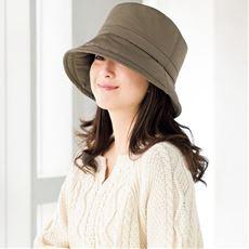 ふんわり暖か中綿入り2WAY帽子<美活計画>