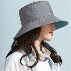 小顔に見える遮熱遮光はっ水UV帽子<美活計画>