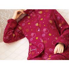 肌側綿100%ニットキルトのあったか仕様パジャマ