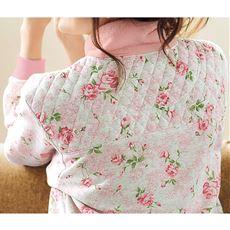 首肩まわりあったか裏起毛パジャマ