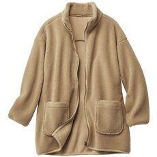 ボアハイネックジャケット(冷え対策/あったか/洗濯機OK)