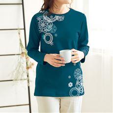 なめらかスムースのセミロングTシャツ(綿100%)