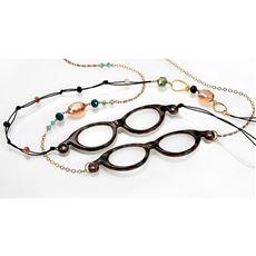 メガネ型ルーペ付きネックレス