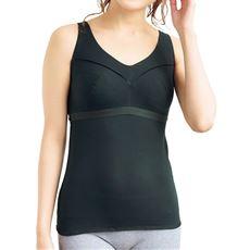 ソフトブラ付きタンクトップ(ノンワイヤー・やさしい肌ざわり・Tシャツみたいなブラ®)