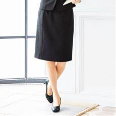 らくらくタイトスカート(事務服・洗濯機OK・動らく)/座ってもお腹らくらくの前らく®カーブベルト設計