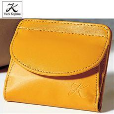 ユリ・コジマ 牛床革使用コンパクト財布