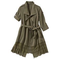裾レースジャケット