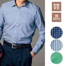 形態安定・高密度素材Yシャツ