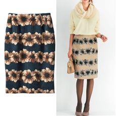 コーデュロイタイトスカート(選べる2レングス)