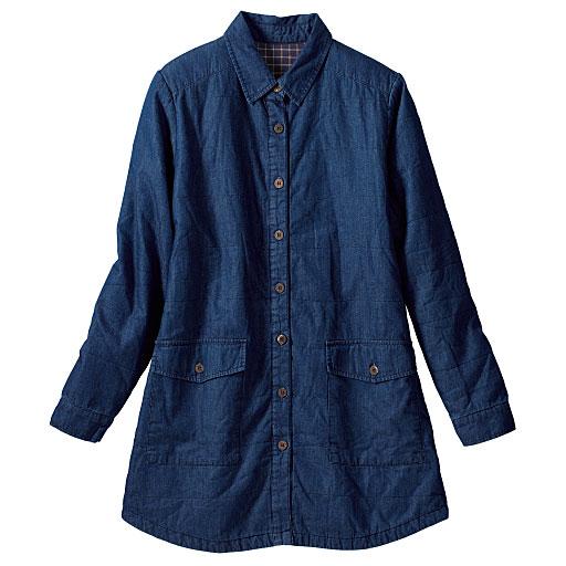 キルティングシャツジャケット