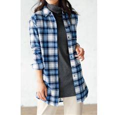 チュニックシャツ(綿100%)