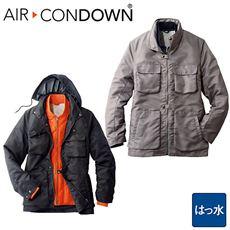 軽量中綿ライナー付きジャケット(エアコンダウン)