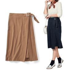 アシンメトリースカート(選べる2レングス)
