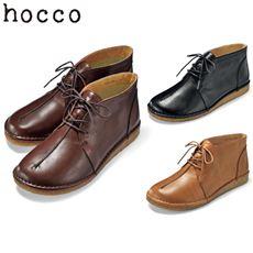 本革デザートブーツ(hocco)