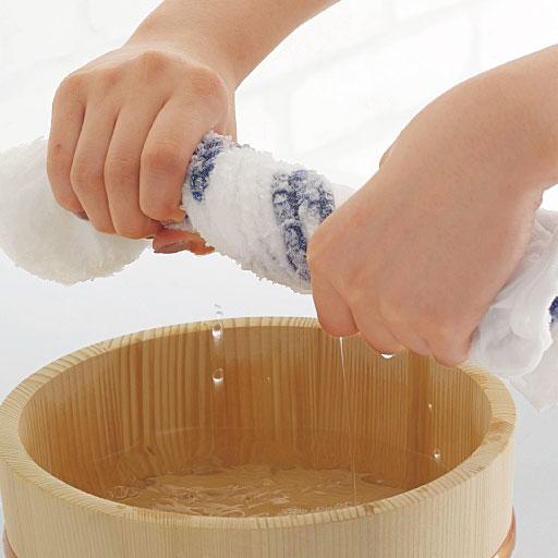 【泉州産】しっかり拭けて絞りやすいタオル