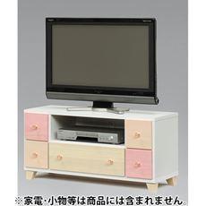パステルピンクテレビボード(NAJ-002)