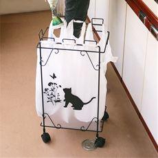 黒猫モチーフダストボックス