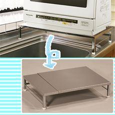 伸縮式食洗器ラック