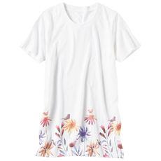 プリントロングTシャツ(S~5L・綿100%)