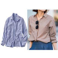 スマートドライ衿付きスキッパーシャツ(吸汗速乾・接触冷感・UVカット・抗菌防臭・形態安定)