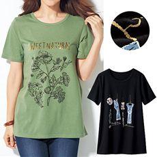 プリントTシャツ(半袖)