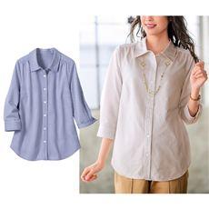カットソーシャツ(7分袖)