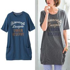 刺繍使いバルーンTシャツ