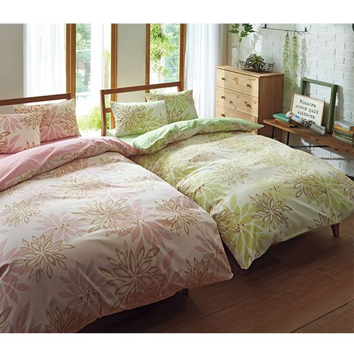 日本製綿100%枕カバー(同色2枚組)