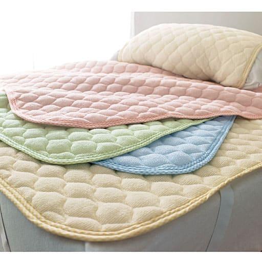 「かる~いコットンのタオルが使いやすい」ニットパイルパッドシーツ(敷きパッド)