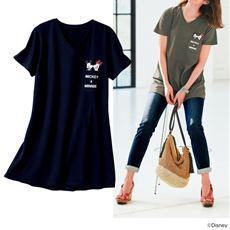 チュニックTシャツ(ディズニー)