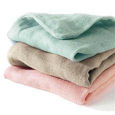 ダブルガーゼの毛布・肌布団カバー