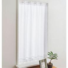 プライバシー保護に優れた遮像・UVカットカフェカーテン