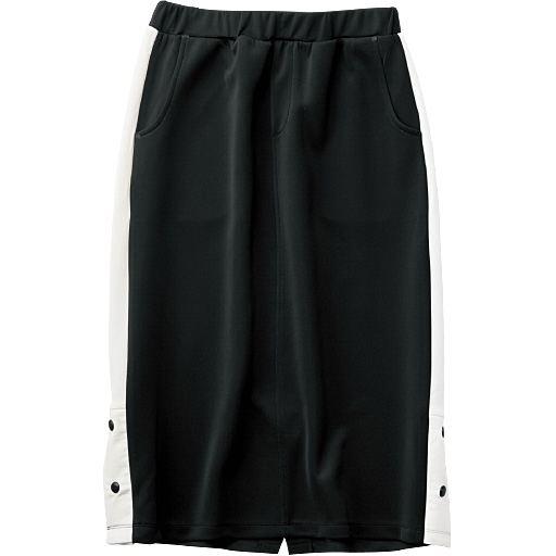 サイドライン配色スカート