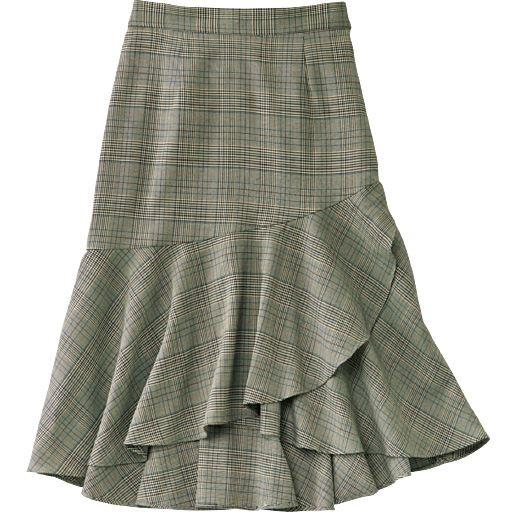 マーメイド切り替えスカート