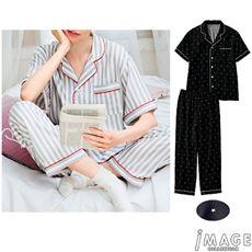 ゆるく着られるシャツパジャマ(男女兼用)