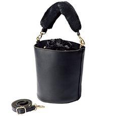エコファーハンドルショルダーバッグ