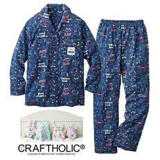CRAFTHOLIC ニットシャツパジャマ