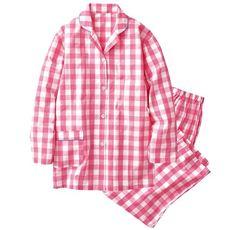 シャツパジャマ(綿100%)