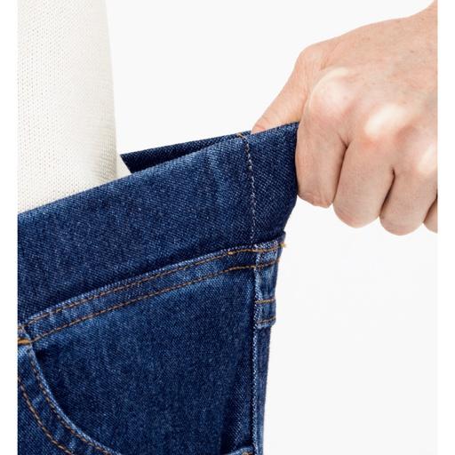 ニットデニムスキニーパンツ(スマートニットジーンズ)(選べる4レングス)