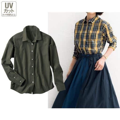 UVケアレギュラーシャツ