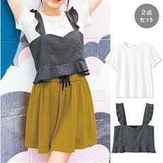 ランキング_ビスチェ&Tシャツ