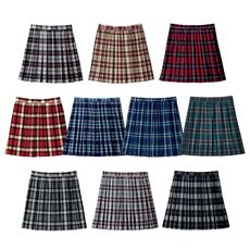 ランキング_丈が選べるチェック柄プリーツスカート(スクール・制服)