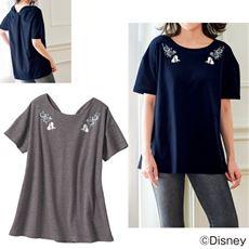 リボンデザインTシャツ(ディズニー)