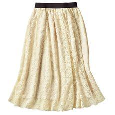 レーススカート(洗濯機OK)