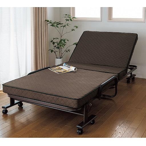 コンパクト折りたたみベッド 通販  セシール(cecile)