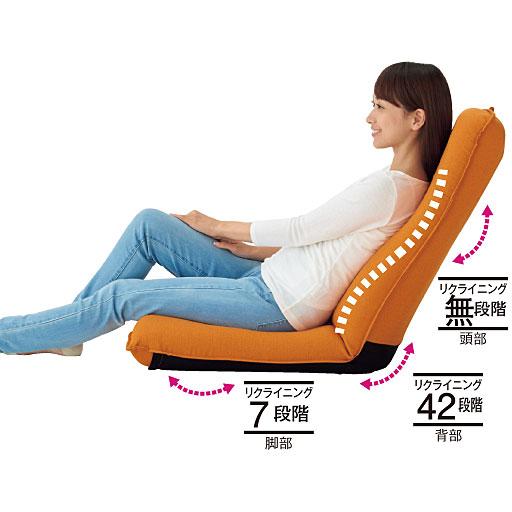 腰に優しいリラックス座椅子